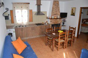 Casa rural Balsica salón