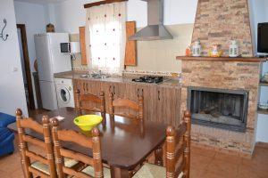 Casa rural Balsica cocina