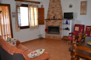 Casa rural Arrayán salón