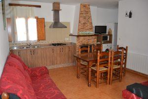 Casa rural Somogil salón cocina