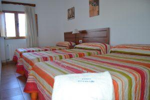 Casa rural Somogil habitación triple