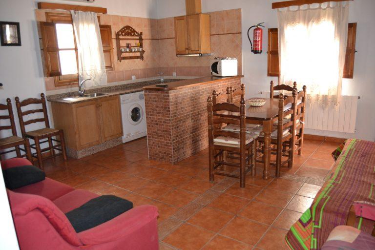 Casa rural Alberquilla salón