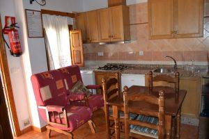 Casa rural Quintero salón