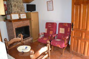 Casa rural Atalaya salón