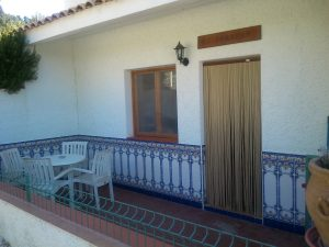 Casa rural Arrayán patio