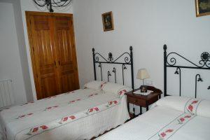 Casa rural Hondares habitación doble