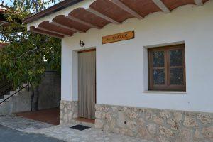 Casa rural Bañaor entrada