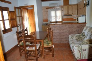 Casa rural Bañaor salón
